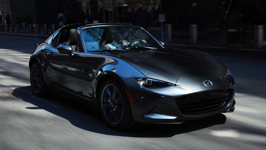New 2021 Mazda MX-5 Miata RF in Houston, TX