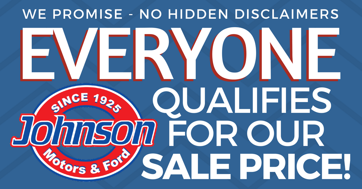 Everyone Qualifies for Sale Price