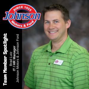 Brad Lutz, IT, Johnson Motors & Johnson Ford