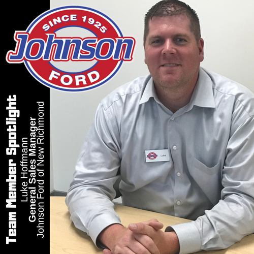 Luke Hoffmann General Sales Manager at Johnson Ford of New Richmond
