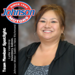 Lydia Valentine, Inventory Admin, Johnson Motor Sales