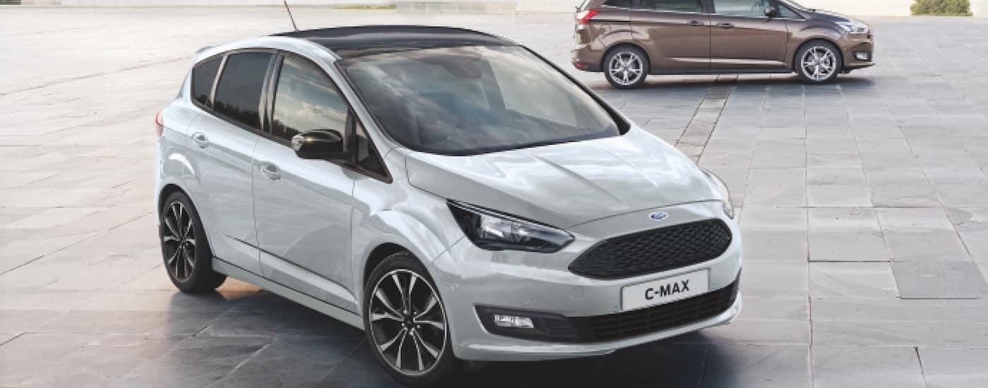 White 2018 Ford C-Max Sport