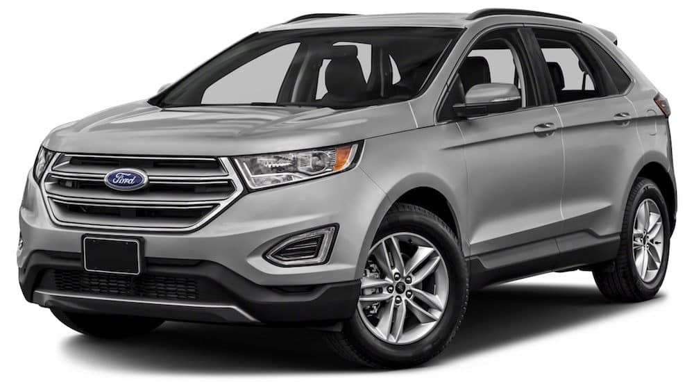 Grey 2018 Ford Edge
