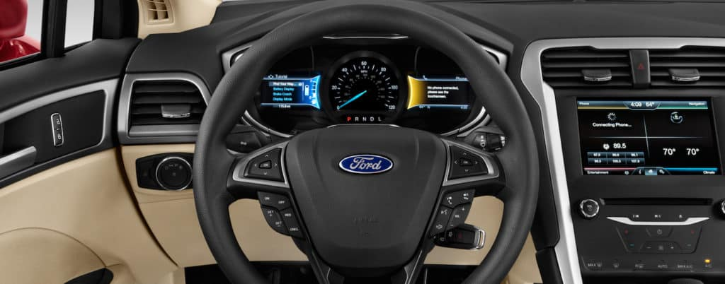 Ford Edge Interior Technology Display