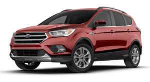 Red 2018 Ford Escape Display Model