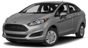 Grey 2018 Ford Fiesta