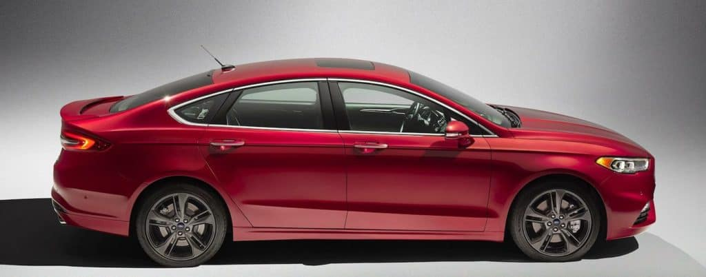 Red 2018 Ford Fusion Design