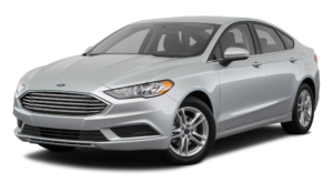 Grey 2018 Ford Fusion