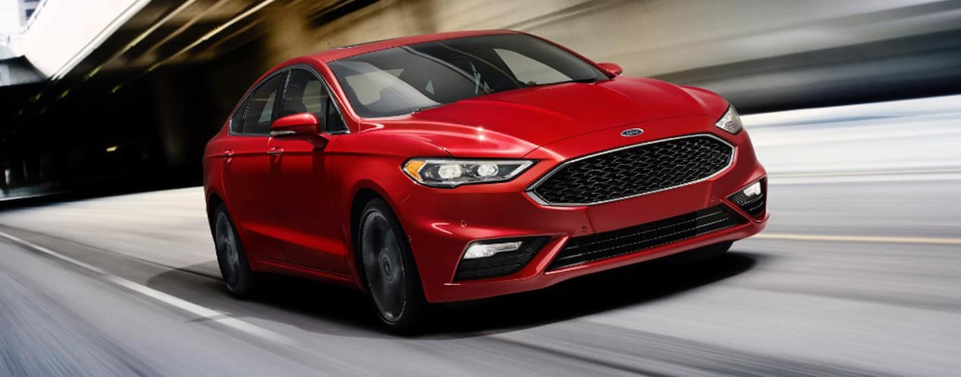 New Ford Fusion Performance