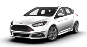 White 2018 Ford Focus Model