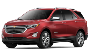 Red 2018 Chevy Equinox