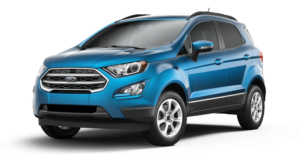 Blue 2018 Ford EcoSport