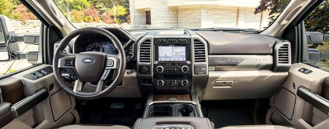 New Ford F-250 Interior