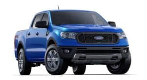 Blue 2019 Ford Ranger Model Image