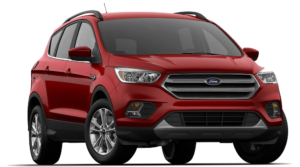 Red 2018 Ford Escape