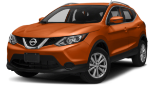 Orange 2018 Nissan Rogue