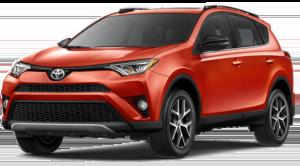Orange 2018 Toyota RAV4