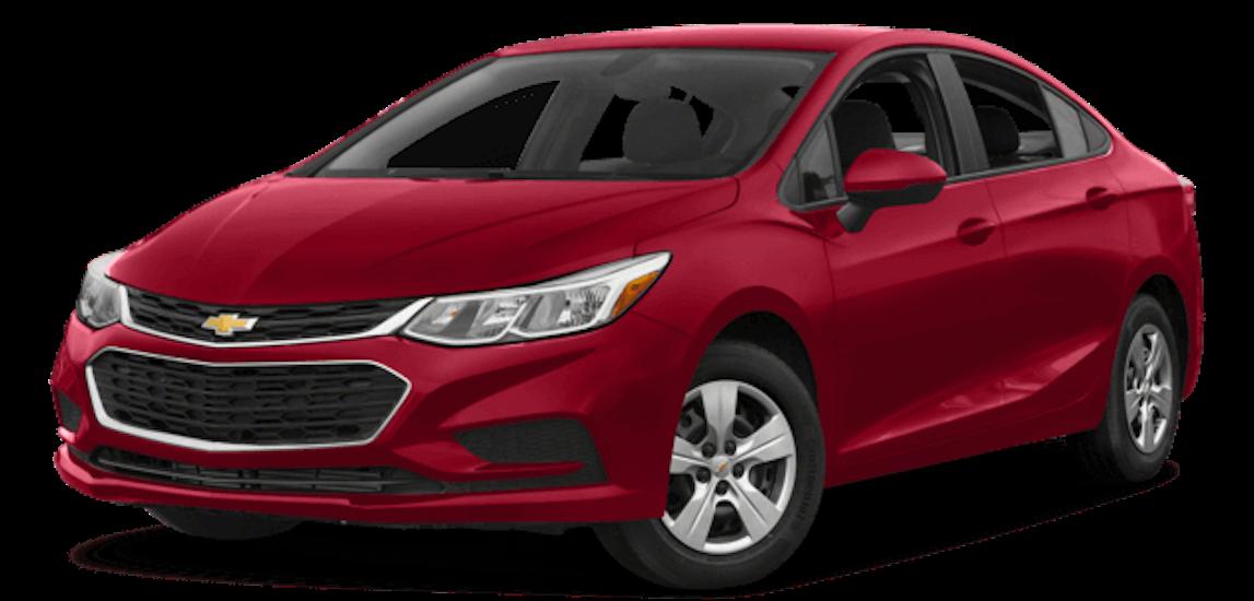Red 2018 Chevrolet Cruze