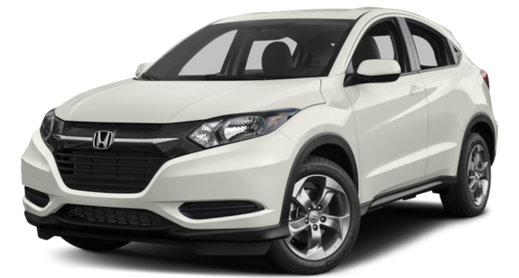 White 2018 Honda HR-V
