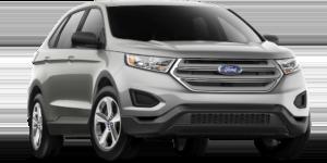 Silver 2018 Ford Edge SE for sale in Albany vs. 2018 hyundai Santa fe sport