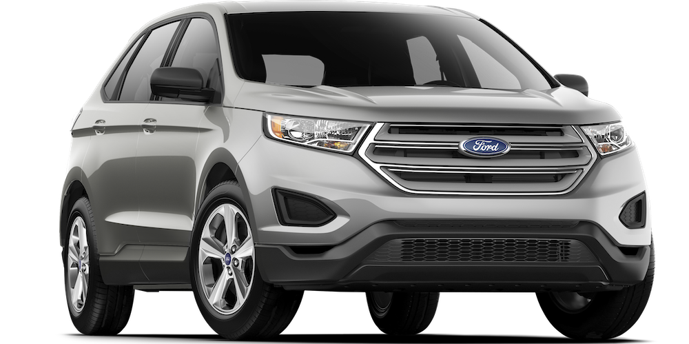 Silver 2018 Ford Edge SE for sale in Albany vs. 2018 hyundai Santa fe sport