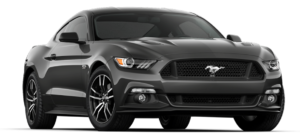 Black 2018 Ford Mustang