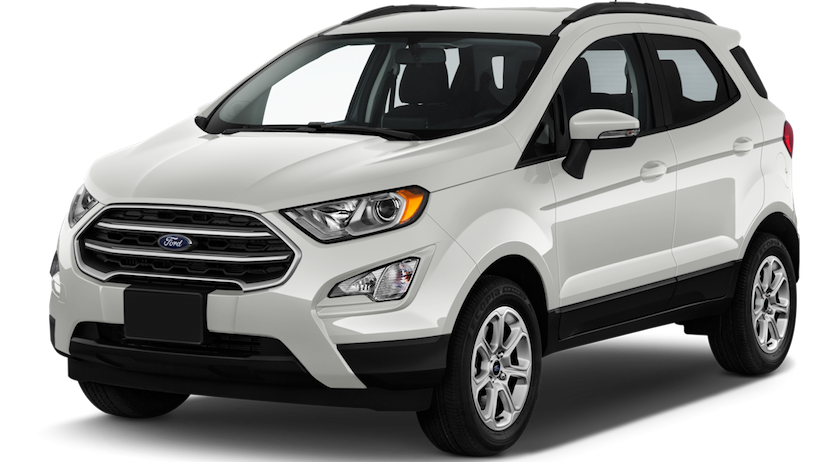 A white 2019 Ford EcoSport from Kings Ford