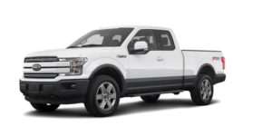 Brand new white 2019 Ford F-150