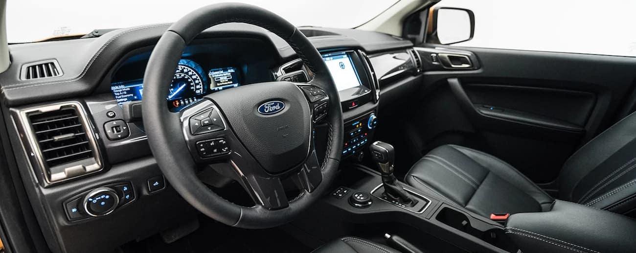2019 Ford Rangers high tech black interior