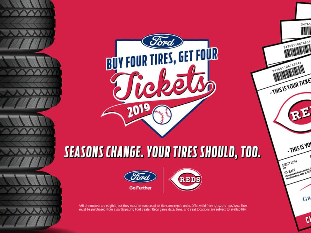 Kings Quicklane and Kings Ford offering Baseball Tickets