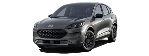 A gray 2020 Ford Escape is facing left.