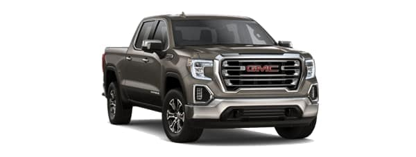 A brown 2020 GMC Sierra 1500 is facing right.