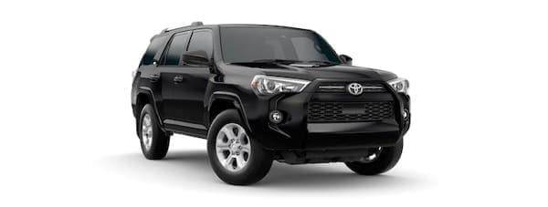A black 2021 Toyota 4Runner is angled right.