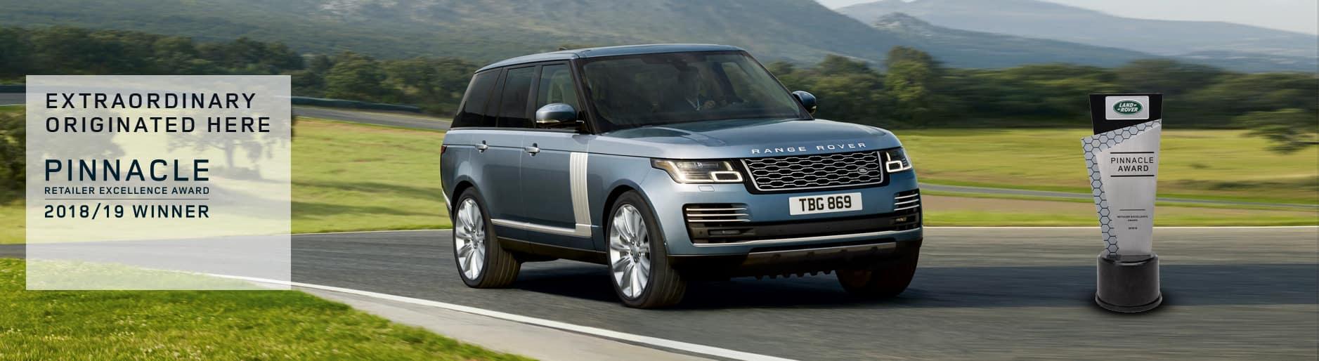 Land Rover Darien >> 2018 19 Land Rover Pinnacle Award Land Rover Darien