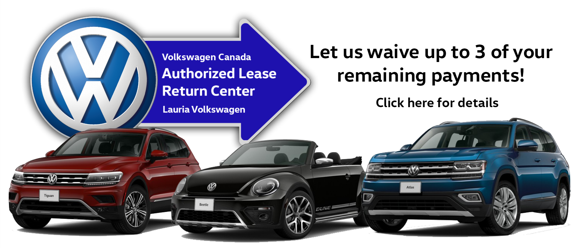 VW Lease return center