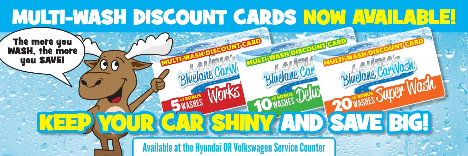 multi wash discount card