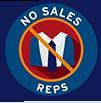 No Sales Rep