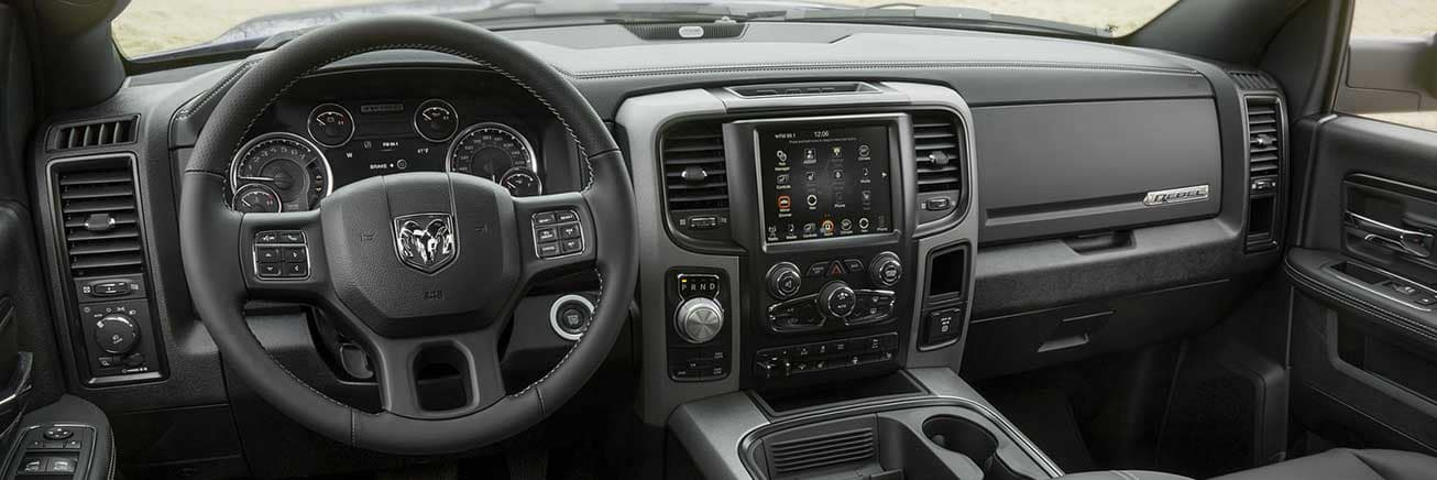Used Ram 1500 Truck Interior