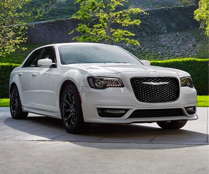 white chrysler sedan links to new vehicles