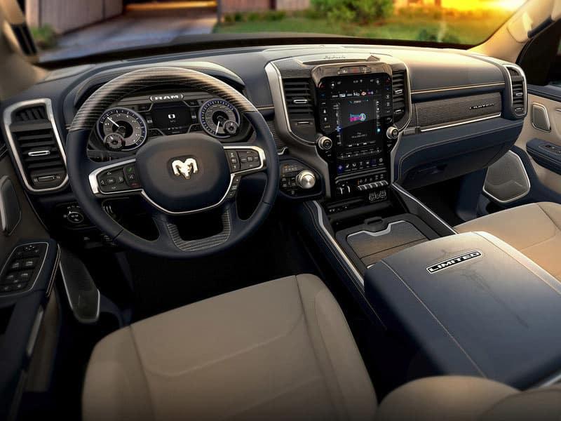 2021 Ram 1500 Interior and Technology