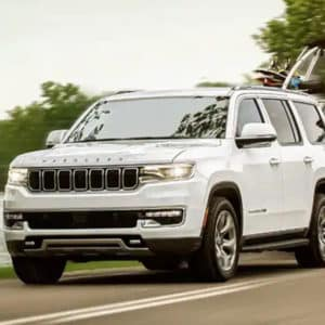 2022 Jeep Wagoneer Best-in-Class Towing