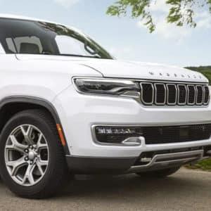 2022 Jeep Wagoneer Design