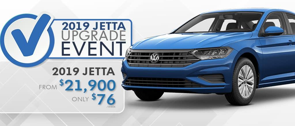 The 2019 Jetta Upgrade Event is on now at Maple Ridge Volkswagen!