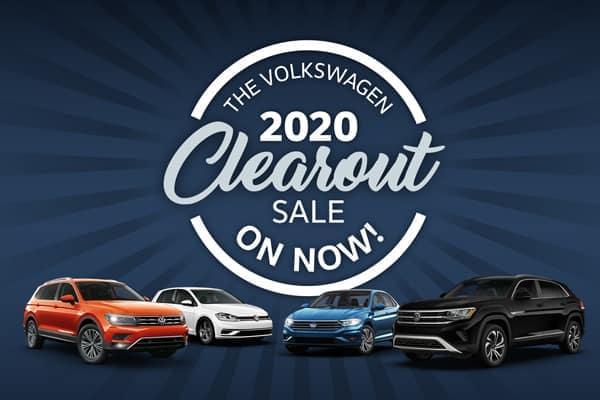 2020 Model Clearance