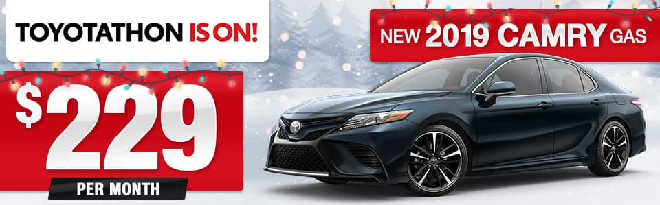 New 2019 Toyota Camry Lease Special