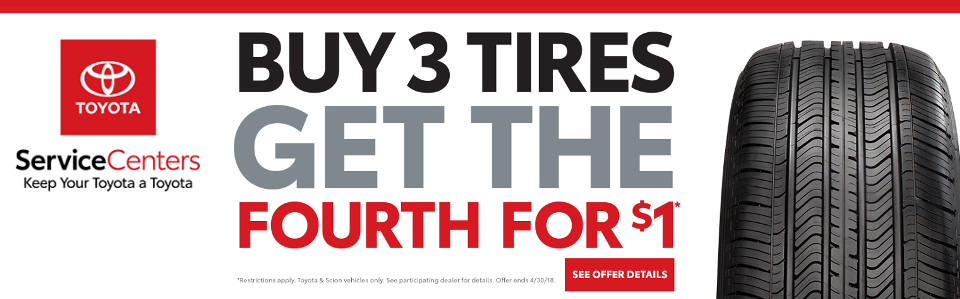 Toyota Tire Service Coupon