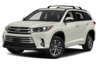 Toyota Highlander Hybrid XLE Trim Features & Options