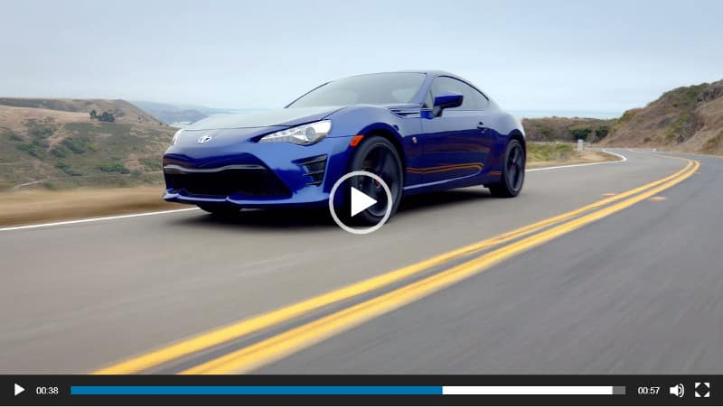 Image of Toyota 86 Video Overview