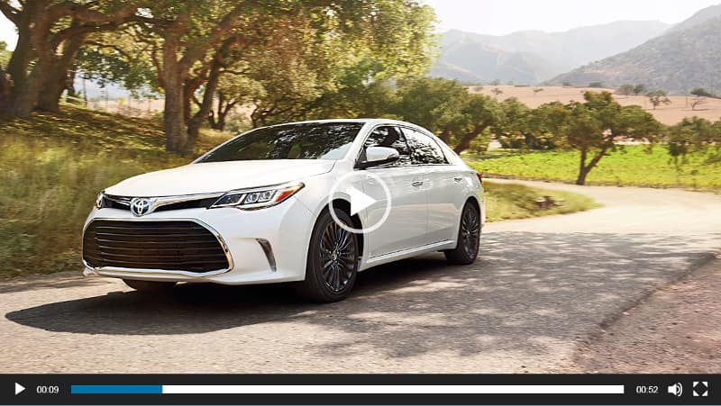Image of Toyota Avalon Video Overview