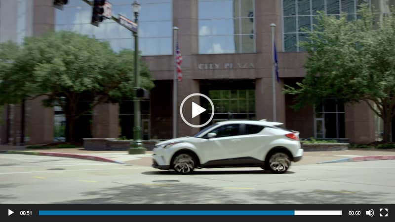 Image of Toyota C-HR Video Overview